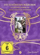 Sechs auf einen Streich - Die schönsten Märchen der Brüder Grimm und Hans Christian Andersen, 10 DVDs Cover