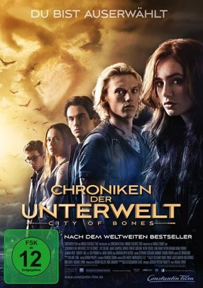 Chroniken der Unterwelt - City of Bones, 1 DVD