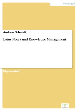Lotus Notes und Knowledge Management
