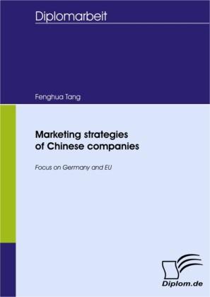Marketing strategies of Chinese companies