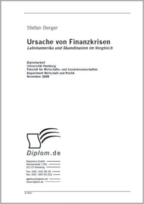 Ursache von Finanzkrisen