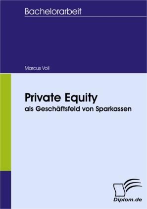 Private Equity als Geschäftsfeld von Sparkassen