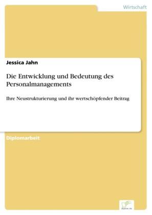 Die Entwicklung und Bedeutung des Personalmanagements