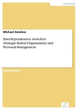 Interdependenzen zwischen Strategie-Kultur-Organisation und Personal-Management
