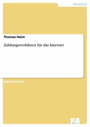 Zahlungsverfahren für das Internet