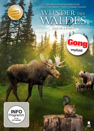 Wunder des Waldes, 1 DVD