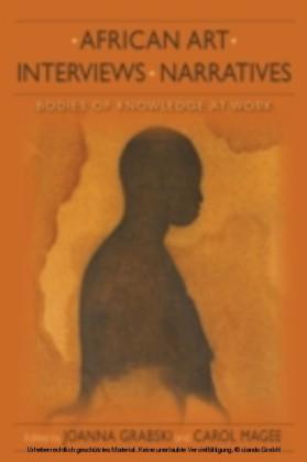 African Art, Interviews, Narratives