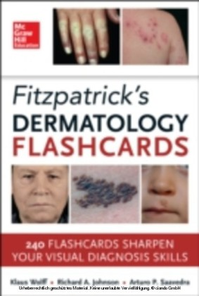 Fitzpatricks Dermatology Flash Cards
