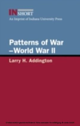 Patterns of War-World War II