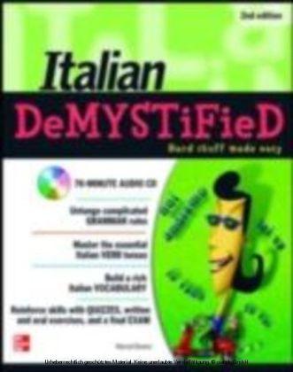 Italian DeMYSTiFieD, Second Edition