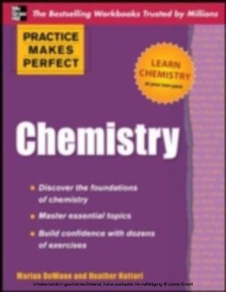Practice Makes Perfect Chemistry