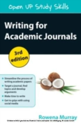 Writing For Academic Journals