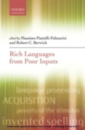 Rich Languages From Poor Inputs