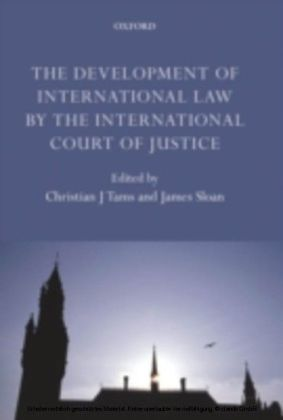 Development of International Law by the International Court of Justice