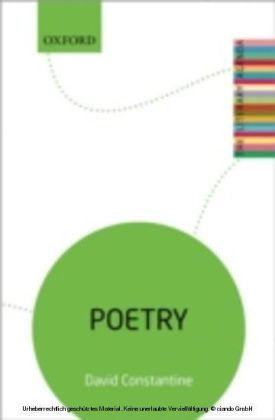 Poetry: The Literary Agenda