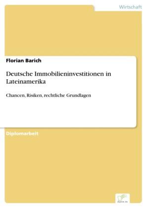 Deutsche Immobilieninvestitionen in Lateinamerika