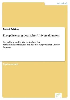Europäisierung deutscher Universalbanken