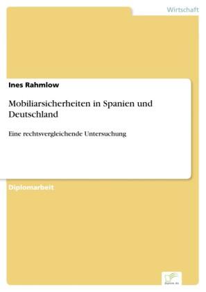 Mobiliarsicherheiten in Spanien und Deutschland
