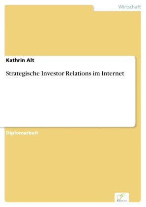 Strategische Investor Relations im Internet