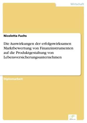 Die Auswirkungen der erfolgswirksamen Marktbewertung von Finanzinstrumenten auf die Produktgestaltung von Lebensversicherungsunternehmen