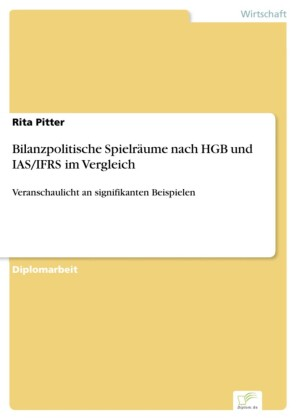 Bilanzpolitische Spielräume nach HGB und IAS/IFRS im Vergleich