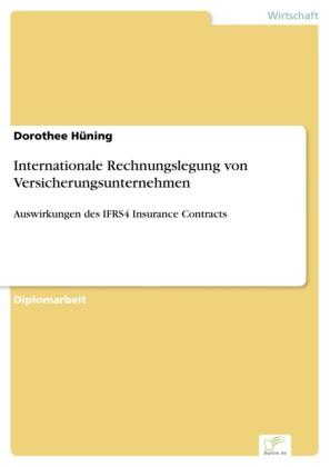 Internationale Rechnungslegung von Versicherungsunternehmen