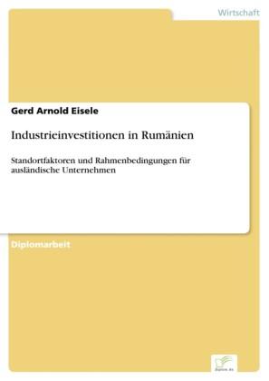 Industrieinvestitionen in Rumänien