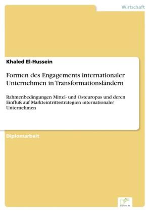 Formen des Engagements internationaler Unternehmen in Transformationsländern