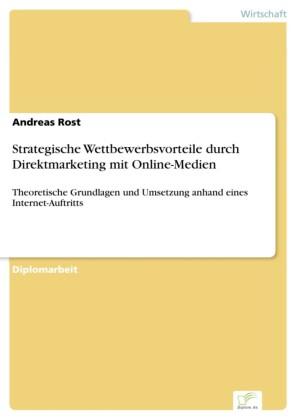 Strategische Wettbewerbsvorteile durch Direktmarketing mit Online-Medien