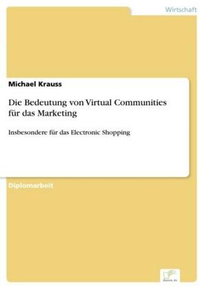 Die Bedeutung von Virtual Communities für das Marketing