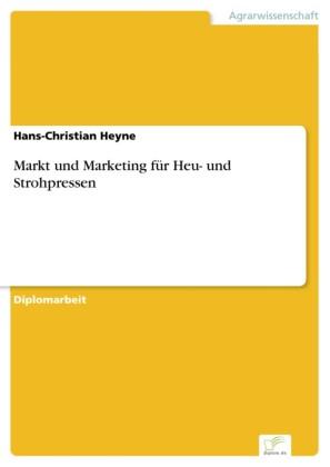 Markt und Marketing für Heu- und Strohpressen