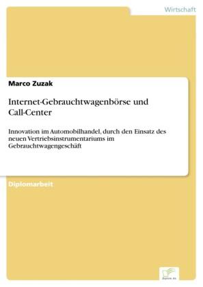 Internet-Gebrauchtwagenbörse und Call-Center
