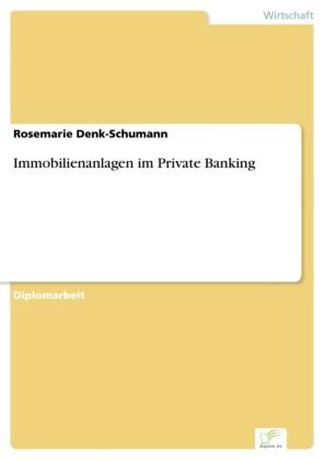Immobilienanlagen im Private Banking