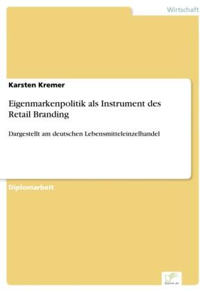 Eigenmarkenpolitik als Instrument des Retail Branding