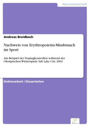 Nachweis von Erythropoietin-Missbrauch im Sport