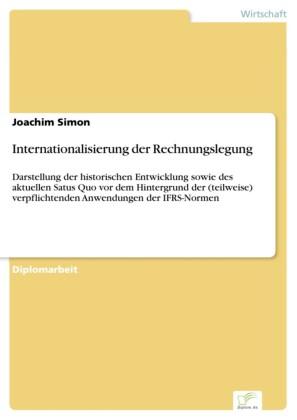 Internationalisierung der Rechnungslegung