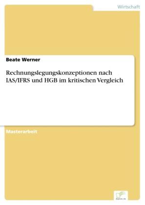Rechnungslegungskonzeptionen nach IAS/IFRS und HGB im kritischen Vergleich