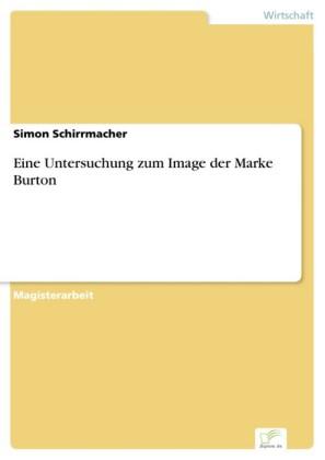 Eine Untersuchung zum Image der Marke Burton
