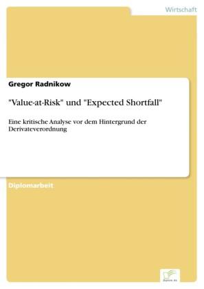 'Value-at-Risk' und 'Expected Shortfall'