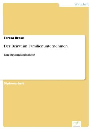 Der Beirat im Familienunternehmen