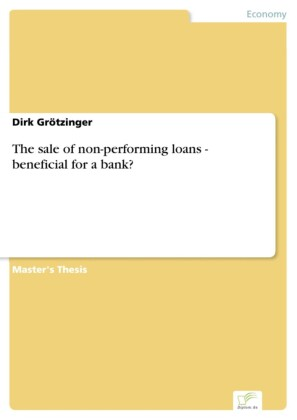 The sale of non-performing loans - beneficial for a bank?