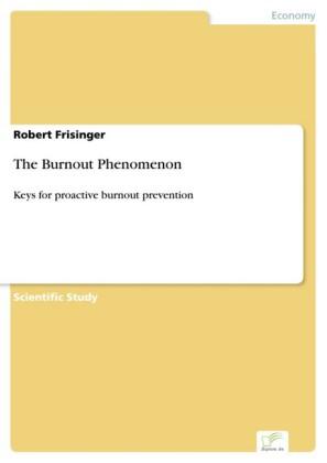 The Burnout Phenomenon