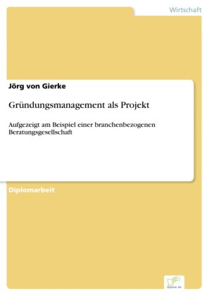 Gründungsmanagement als Projekt