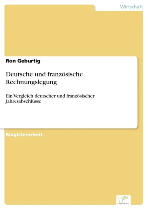 Deutsche und französische Rechnungslegung