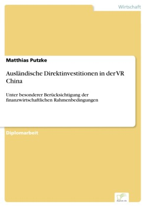 Ausländische Direktinvestitionen in der VR China