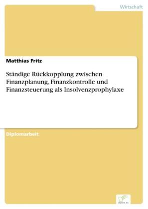 Ständige Rückkopplung zwischen Finanzplanung, Finanzkontrolle und Finanzsteuerung als Insolvenzprophylaxe