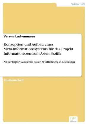 Konzeption und Aufbau eines Meta-Informationssystems für das Projekt Informationszentrum Asien-Pazifik