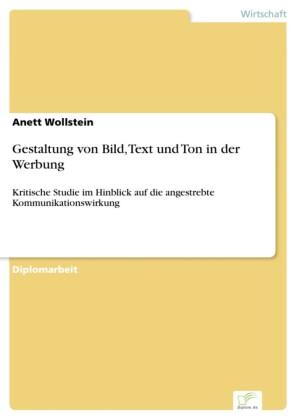 Gestaltung von Bild, Text und Ton in der Werbung
