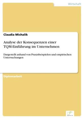Analyse der Konsequenzen einer TQM-Einführung im Unternehmen
