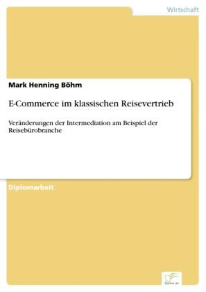 E-Commerce im klassischen Reisevertrieb